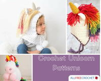 9 Magical Crochet Unicorn Patterns
