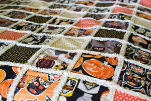 Perfect Fall Rag Quilt Tutorial