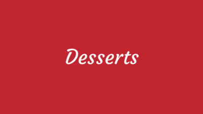 Dessert Recipes by Alton Brown