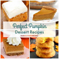 30 Perfect Pumpkin Dessert Recipes