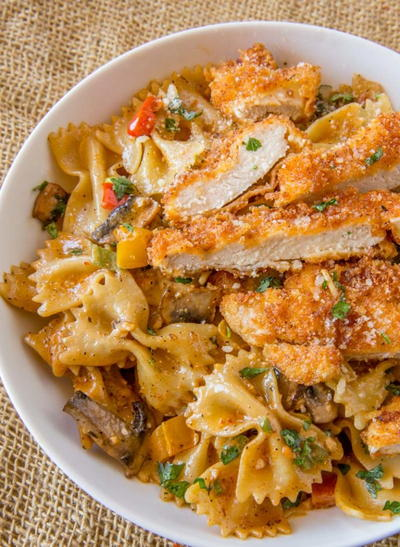 Cheesecake Factory Copycat Louisiana Chicken Pasta
