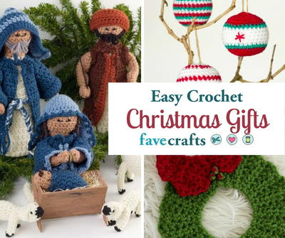 Easy Crochet Christmas Gifts