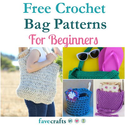 18 Free Crochet Bag Patterns For Beginners Favecrafts Com
