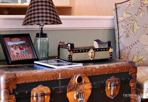 Upcycle a Crate into a Vintage Trunk