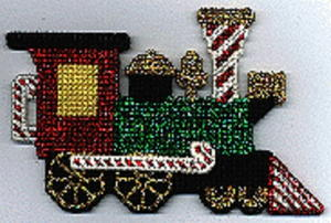 Christmas Railroad Ornaments