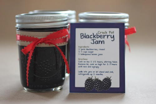 Three Ingredient Blackberry Jam