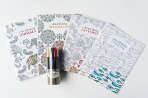 Relaxing Adult Coloring Book Bundle Giveaway