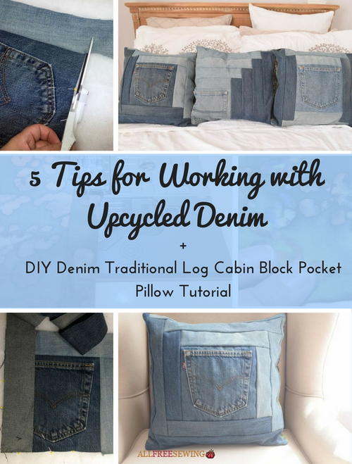 5 Tips for Working with Upcycled Denim