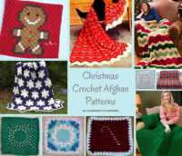 187 Christmas Crochet Afghan Patterns