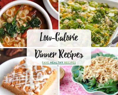 Low-Calorie Dinner Recipes