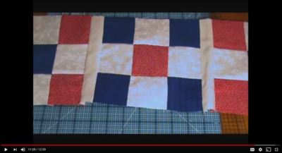 Patriotic Quilt Designs for Table Runners