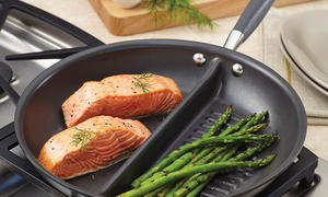 Anolon Divided Grill and Griddle Skillet Giveaway