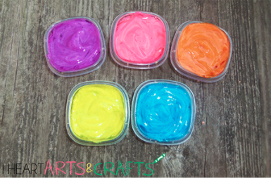 Edible DIY Finger Paint