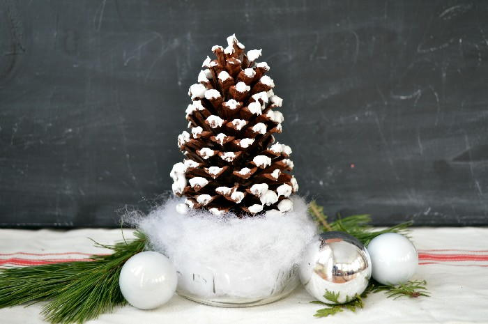Pine cone christmas tree craft for Pine cone christmas tree craft