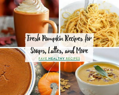 Fresh Pumpkin Recipes for Soups Lattes and More