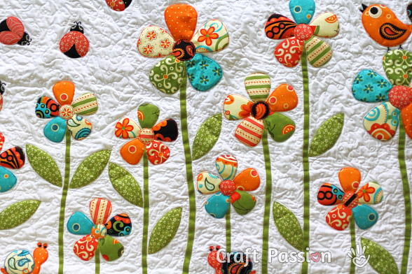 Pretty Petaled Flowers Favequilts Com