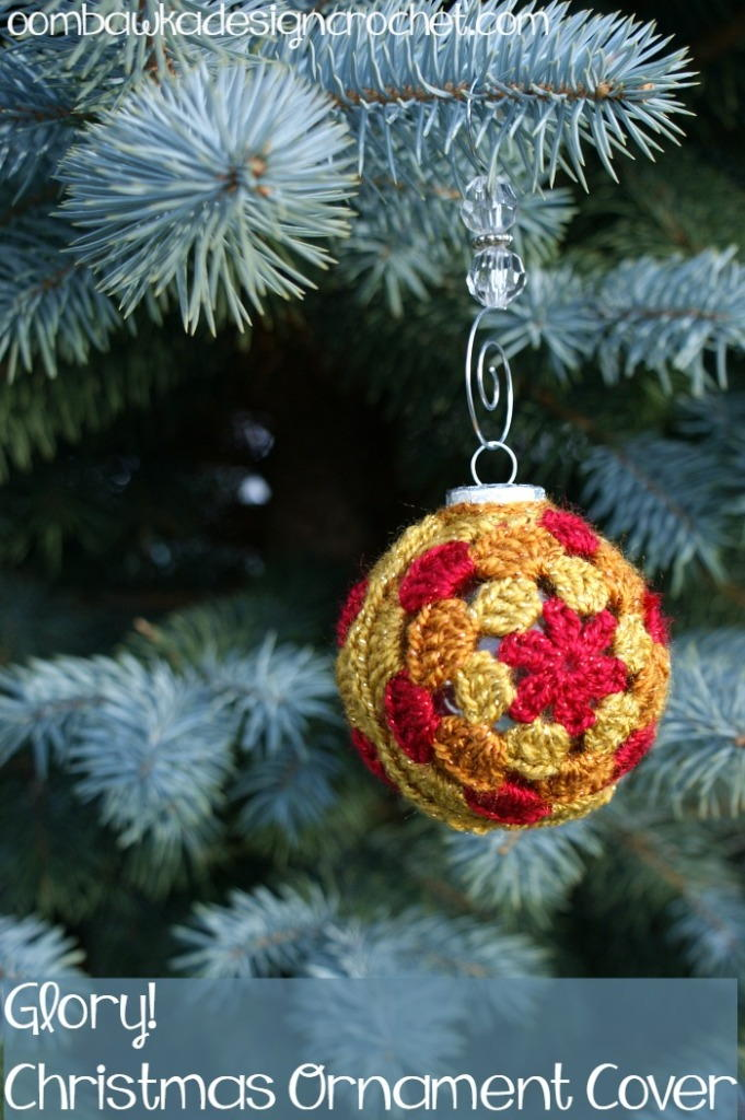 Glory! Christmas Ornament Cover | AllFreeChristmasCrafts.com
