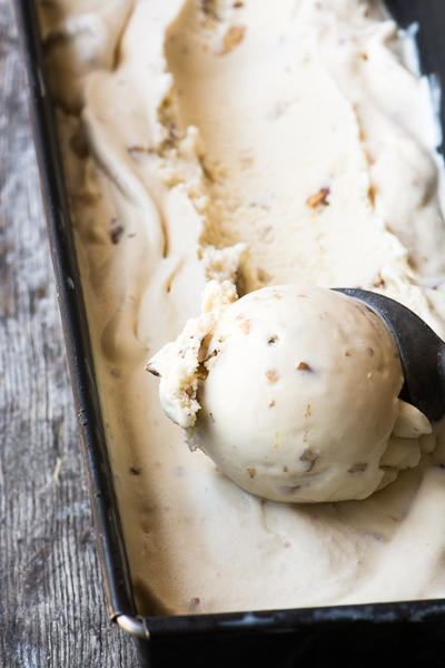 Vintage Walnut Maple Ice Cream