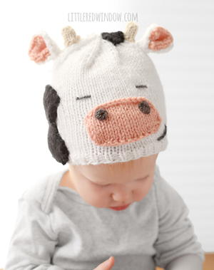 Cuddly Cow Hat