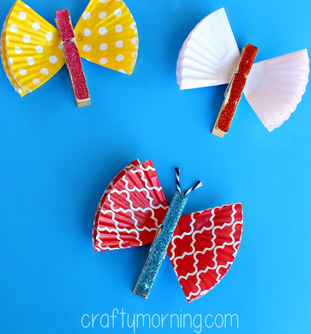 The Easiest Butterfly Crafts
