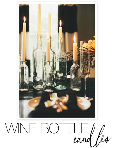 Wickedly Wonderful Wine Bottle Candles