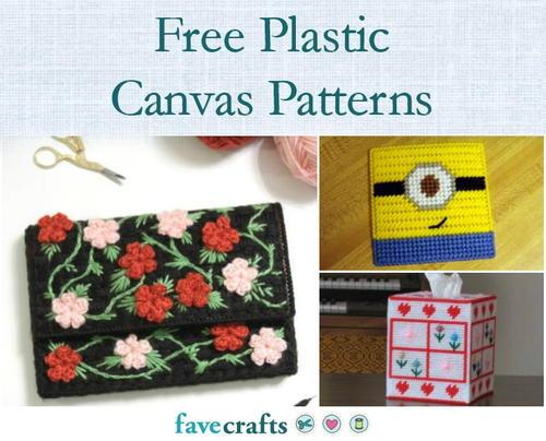 Patriotic Birdhouse Tissue Topper-Plastic Canvas Pattern or Kit