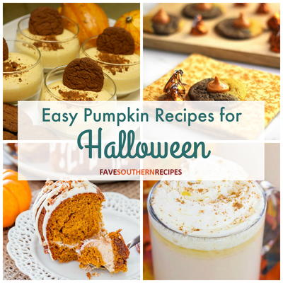 10 Easy Pumpkin Recipes for Halloween