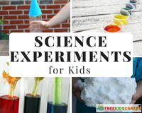34 Science Experiment Projects for Kids