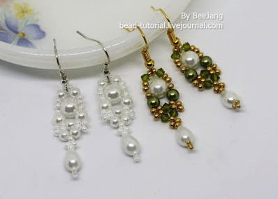 Heavenly Pearl Dangle Earrings