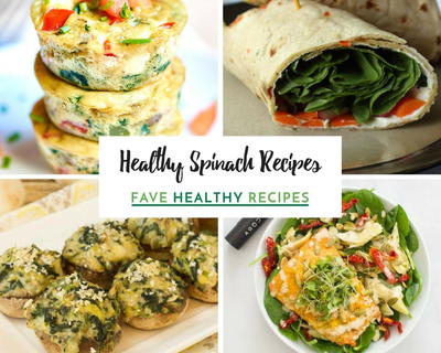 Healthy Spinach Recipes