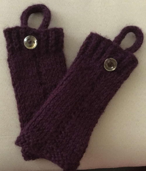 Quick & Easy Wrist Warmers