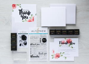Altenew Thank You Card Crafting Set Giveaway