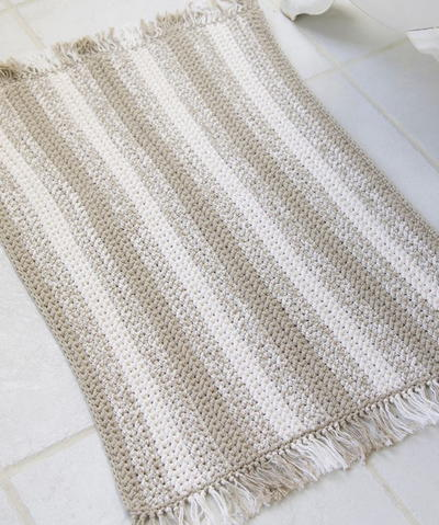 Eco Blend Natural Stripes Rug