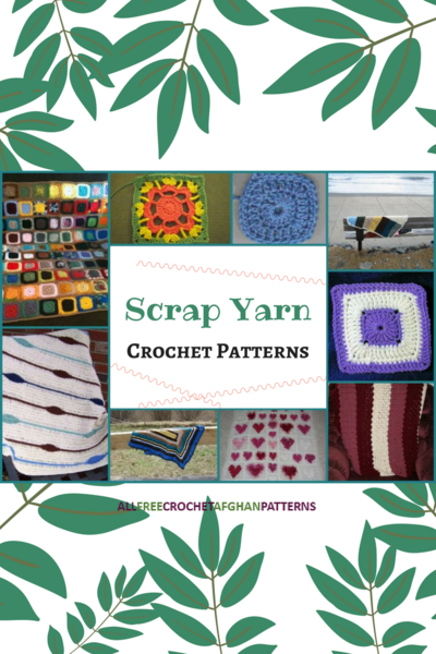 14 Scrap Yarn Crochet Patterns