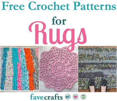 18 Free Crochet Patterns For Rugs Favecraftscom