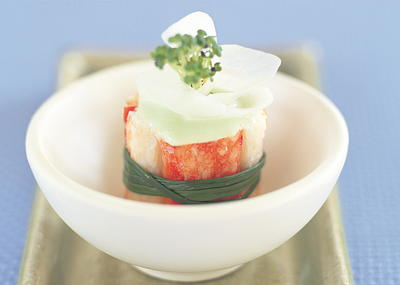 Crabmeat with Wasabi Mayonnaise