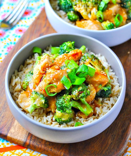 Slow Cooker Orange Chicken and Broccoli