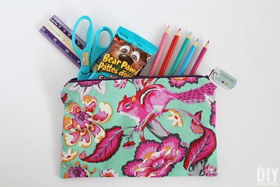 Pencil Case with Lining