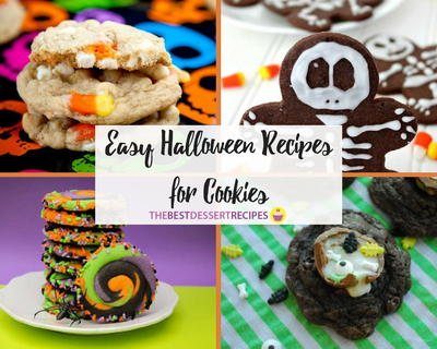 Easy Halloween Recipes for Cookies