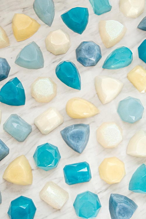 Gemstone Soap Favors