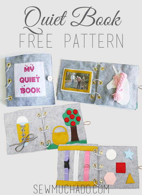 Felt Book Cover Pattern : Quiet book free pattern allfreesewing
