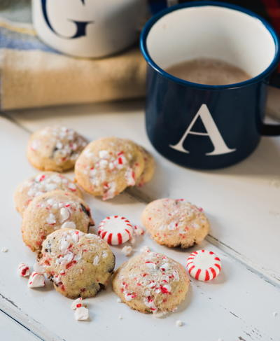 Peppermint Crunch Cookies | RecipeLion.com