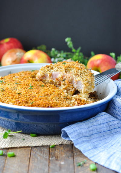 Dump-and-Bake Boneless Pork Chops
