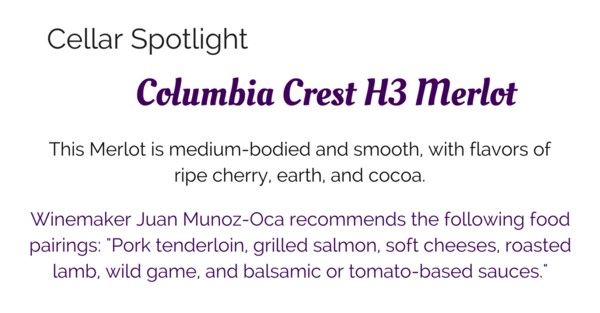 Cellar Spotlight on Columbia Crest Merlot