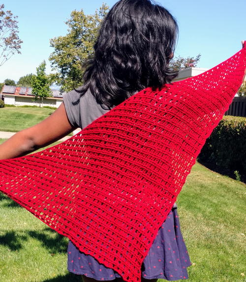 Mission Street Shawl