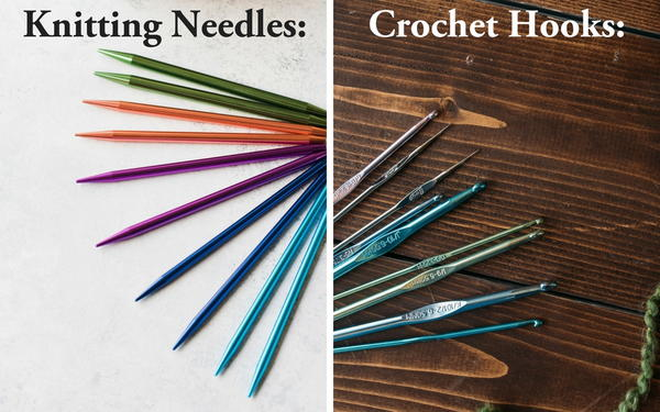 Knitting Vs Crochet Whats The Difference Favecraftscom