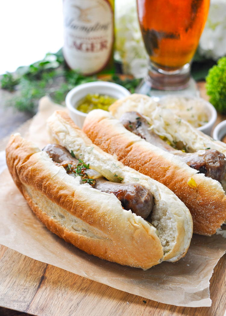 3 Ingredient Grilled Beer Brats Recipelion Com