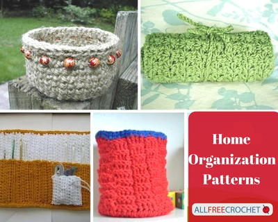 How to Clean Using Homemade Crochet Designs 17 Home Organization Patterns
