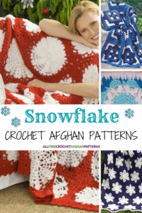 17 Snowflake Crochet Afghan Patterns