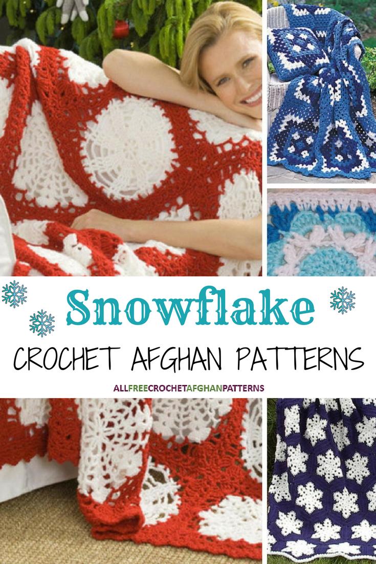 17 Snowflake Crochet Afghan Patterns Allfreecrochetafghanpatterns